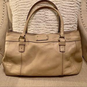 Cream Kate Spade Handbag